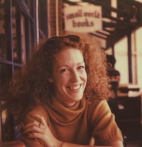 Meghan Pinson at Small World Books in Venice, California. Photo credit: Sunny Cooper